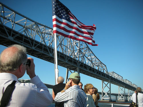 Looking at the Bay Bridge