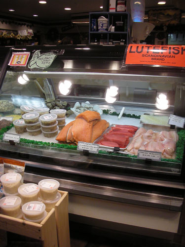 Morey's seafood - lutefisk