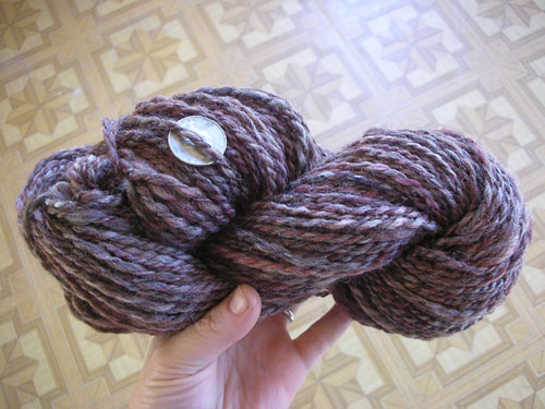 Skeined up yarn