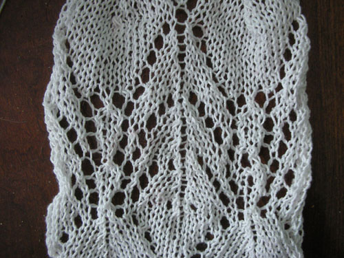 Fountain lace pattern