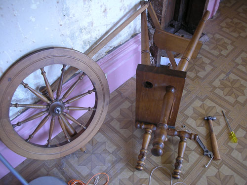 Teardown and rebuild of Clemes and Clemes wheel