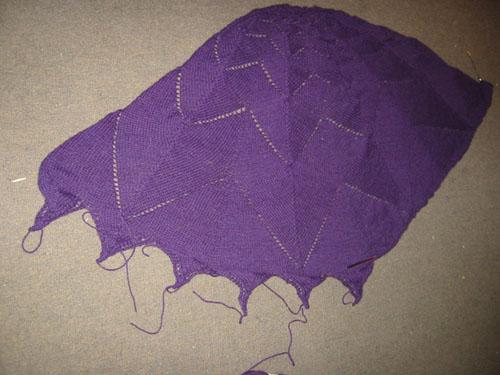 Whole shawl