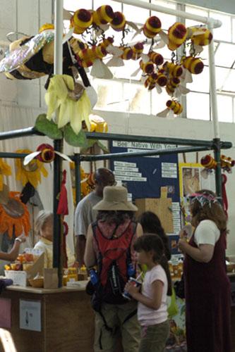 Beekeeping exhibit