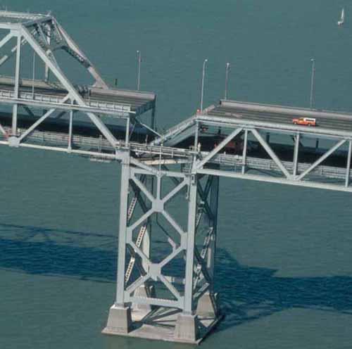Bay Bridge, collapsed
